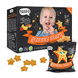 Nosh™ 5-Pack Apple Banana & Sweet Potato Gummy Stars