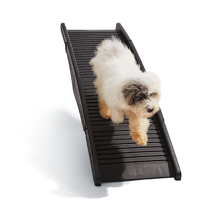 Alternate image 1 for Pawslife® Folding Dog Car Ramp in Black