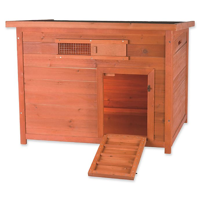 Alternate image 1 for TRIXIE Natura Duck House in Brown