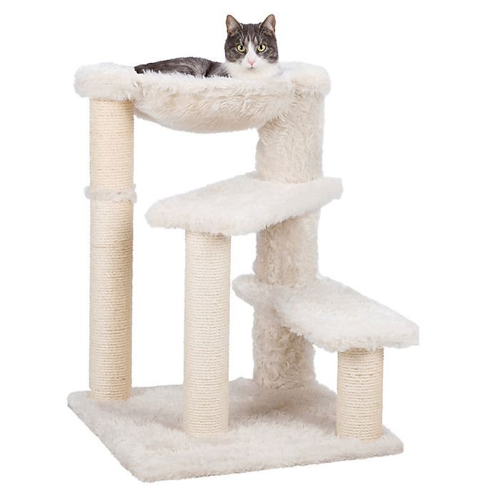 Alternate image 1 for TRIXIE Baza Cat Tree in Cream