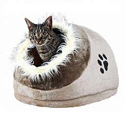 TRIXIE Minou Fleece Cat Cuddly Condo