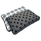 MyPillow® Cotton/Poly Medium Pet Bed in Gray