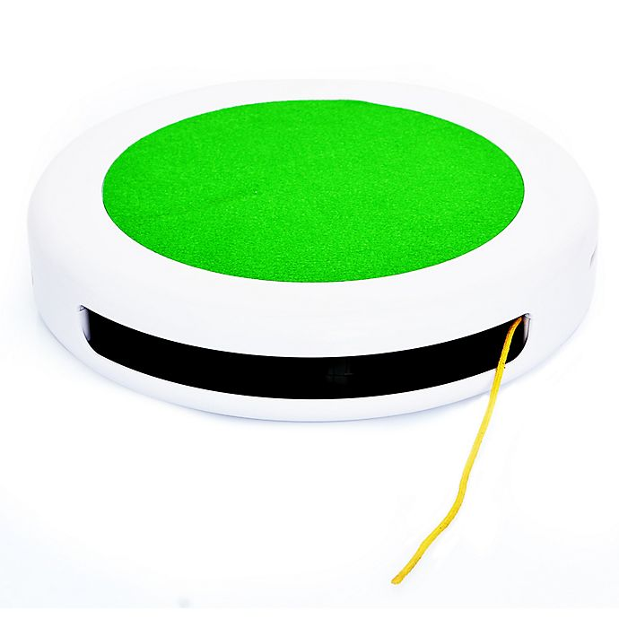 Alternate image 1 for Iconic Pet Flicky Tricky Interactive Cat Teaser Toy in Green