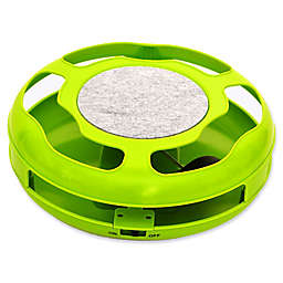 Iconic Pet Mouse Rush Interactive Cat Toy in Green