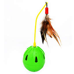 Iconic Pet Tricky Tumble Interactive Cat Toy in Green