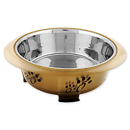 Iconic Pet Color Splash Designer Oval Fusion Pet Bowl