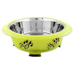 Iconic Pet Color Splash Designer Oval Fusion Pet Bowl