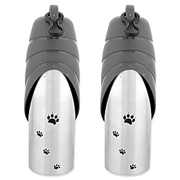 Iconic Pet Water Bowl Travel Bottles (Set of 2)
