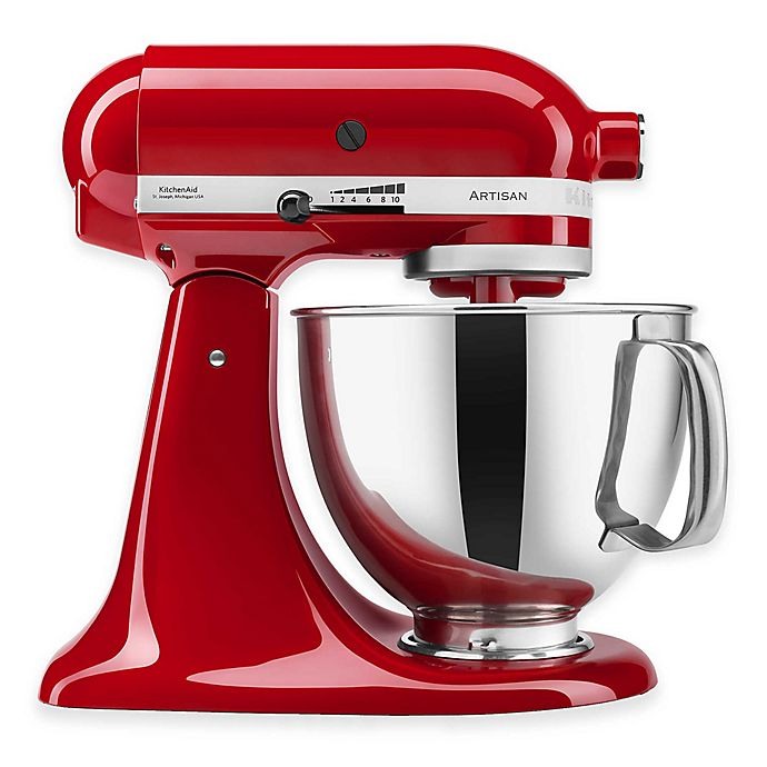 Alternate image 1 for KitchenAid® Artisan® 5 qt. Stand Mixer in Empire Red