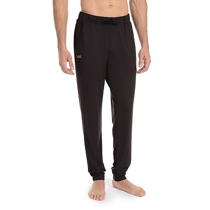 Alternate image 1 for Copper Fit® Essential Small/Medium Men's Sleep Pants in Onyx