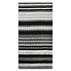 KitchenSmart® Colors Multi Stripe Kitchen Towel in Mineral Grey/Caviar