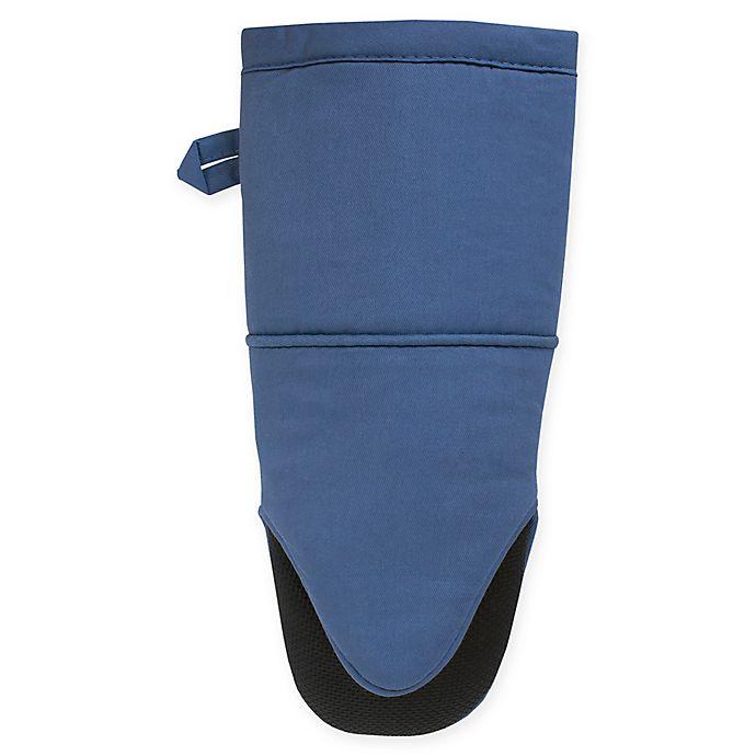 Alternate image 1 for KitchenSmart® Colors Neoprene Oven Mitt in French Blue