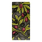 KitchenSmart® Colors Painterly Olives Fiber Reactive Kitchen Towel in Grey