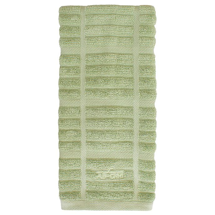 Alternate image 1 for All-Clad Solid Kitchen Towel in Fennel