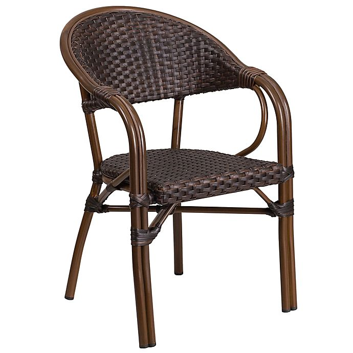 Flash Furniture 24 5 Inch Rattan Patio