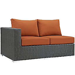 Modway Sojourn Outdoor Left Arm Facing Loveseat in Tuscan Sunbrella® Canvas  Fabric