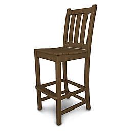 POLYWOOD® Traditional Garden Bar Side Chair