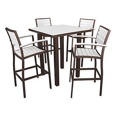 POLYWOOD® Euro 5-Piece Bar Set