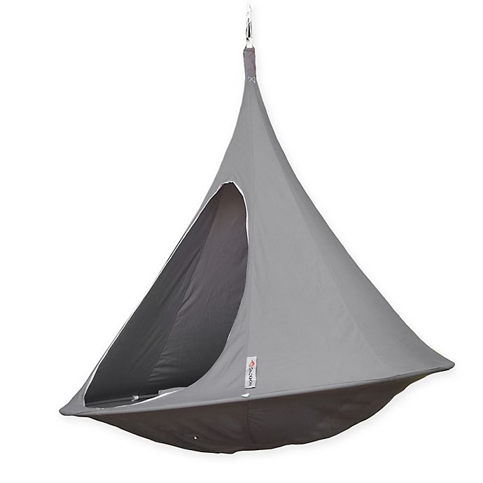 Alternate image 1 for Cacoon Double Hammock Chair in Taupe