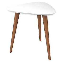 Manhattan Comfort Utopia Triangle End Table