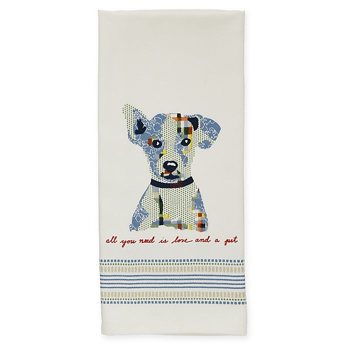 Alternate image 1 for ED Ellen DeGeneres™ Augie Print Kitchen Towel