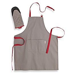 Canadian Living 2-Piece Basic Apron and Shark Mitt Kitchen Set
