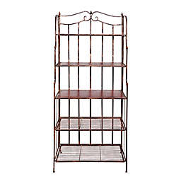 Old Dutch International Montclair Bakers Rack in Antique Copper