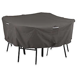 Classic Accessories® Ravenna Square Table and Chair Cover in Dark Taupe