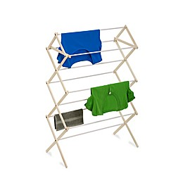 Honey-can-Do® Small Wooden Knockdown Drying Rack