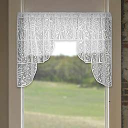 Heritage Lace® Rabbit Hollow 72-Inch Rod Pocket Swag Window Valance Pair