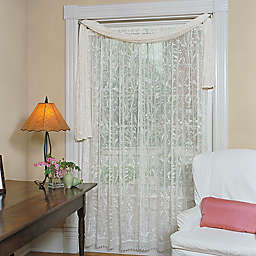 Heritage Lace® Coventry Lace 126-Inch Window Scarf in Ivory (Single)
