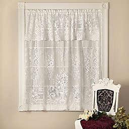 Heritage Lace® Kensington Window Curtain Panel and Valance