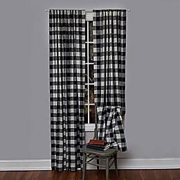 Heritage Lace® Buffalo Check Rod Pocket Window Curtain Panel