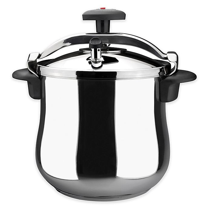 Alternate image 1 for Magefesa® Star Belly 10 qt. Stainless Steel Stovetop Pressure Cooker