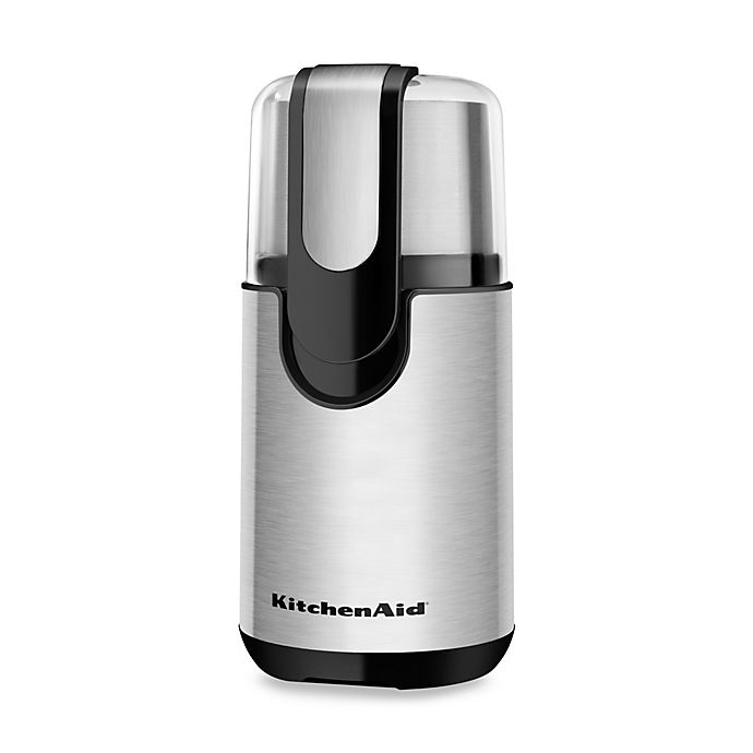 Alternate image 1 for KitchenAid® 4 oz. Blade Coffee Grinder in Stainless Steel