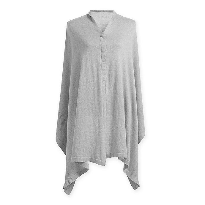 Alternate image 1 for Storksak® Organic Cotton Convertible Nursing Shawl