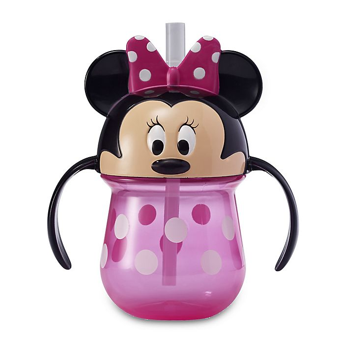 Alternate image 1 for The First Years™ Disney® Minnie Mouse 7 oz. Straw Cup