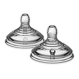 Tommee Tippee Closer to Nature Newborn 2-Pack Stage 1 Extra Slow Flow Nipples