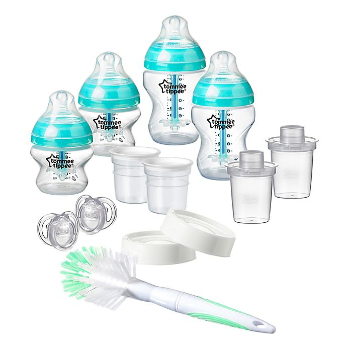 Alternate image 1 for Tommee Tippee Advanced Anti-Colic Newborn Bottle Feeding Starter Set