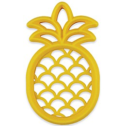 Itzy Ritzy® Pineapple Silicone Teether in Yellow