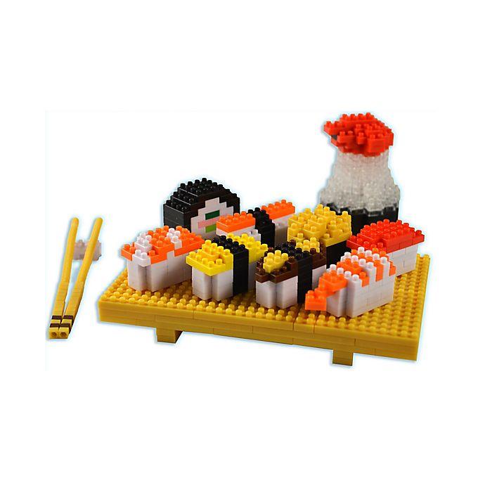 Alternate image 1 for BePuzzled® Sushi 3D Pixel Puzzle