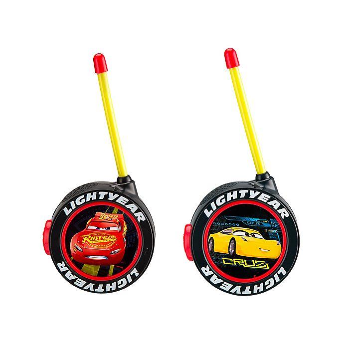 Alternate image 1 for Disney® Pixar Cars Mid-Range Walkie Talkies in Black/Yellow/Red (Set of 2)