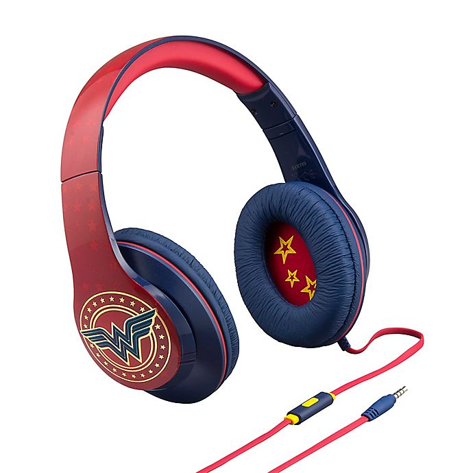Alternate image 1 for iHome® Wonder Woman Over-the-Ear Headphones