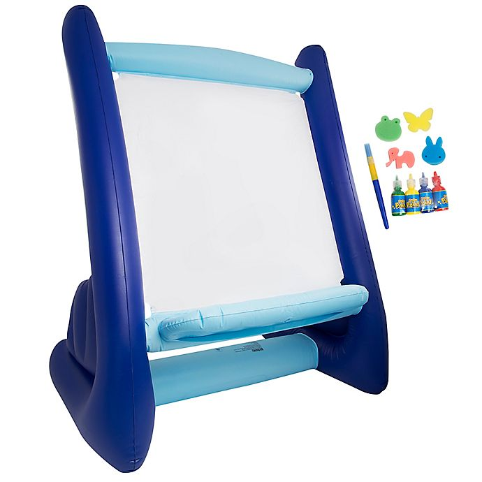 Alternate image 1 for Discovery Inflatable Easel with Paint