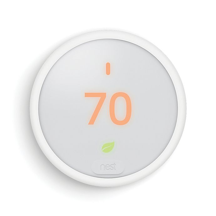 Alternate image 1 for Nest® Thermostat E in White