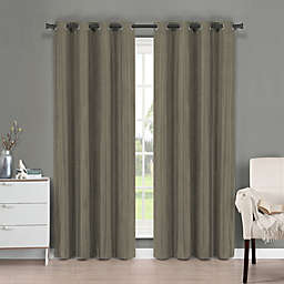 Brielle Fortune Grommet Top Room Darkening Window Curtain Panel