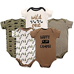 Luvable Friends® 5-Pack Happy Camper Bodysuit