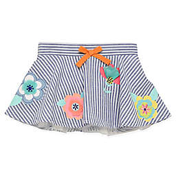 Start-Up Kids® Striped Chambray Floral Tutu