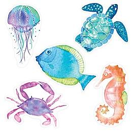 Aqua Touch Sealife Tub Appliqués in Blue (Set of 5)
