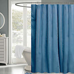 Mini Cord 72-Inch x 72-Inch Fabric Shower in Teal